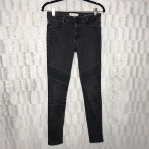DL1961 Florence Instasculpt Moto Skinny Jeans